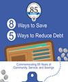 85th Anniversary of the Federal Credit Union Act Infographic