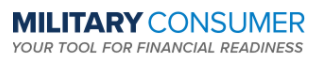 Military Consumer - Your tool for financial readiness