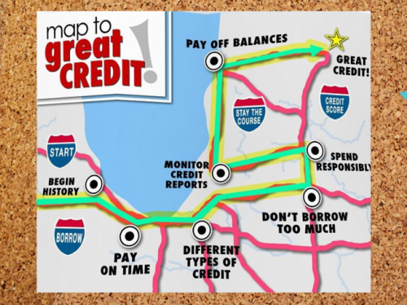 Map to Great Credit!